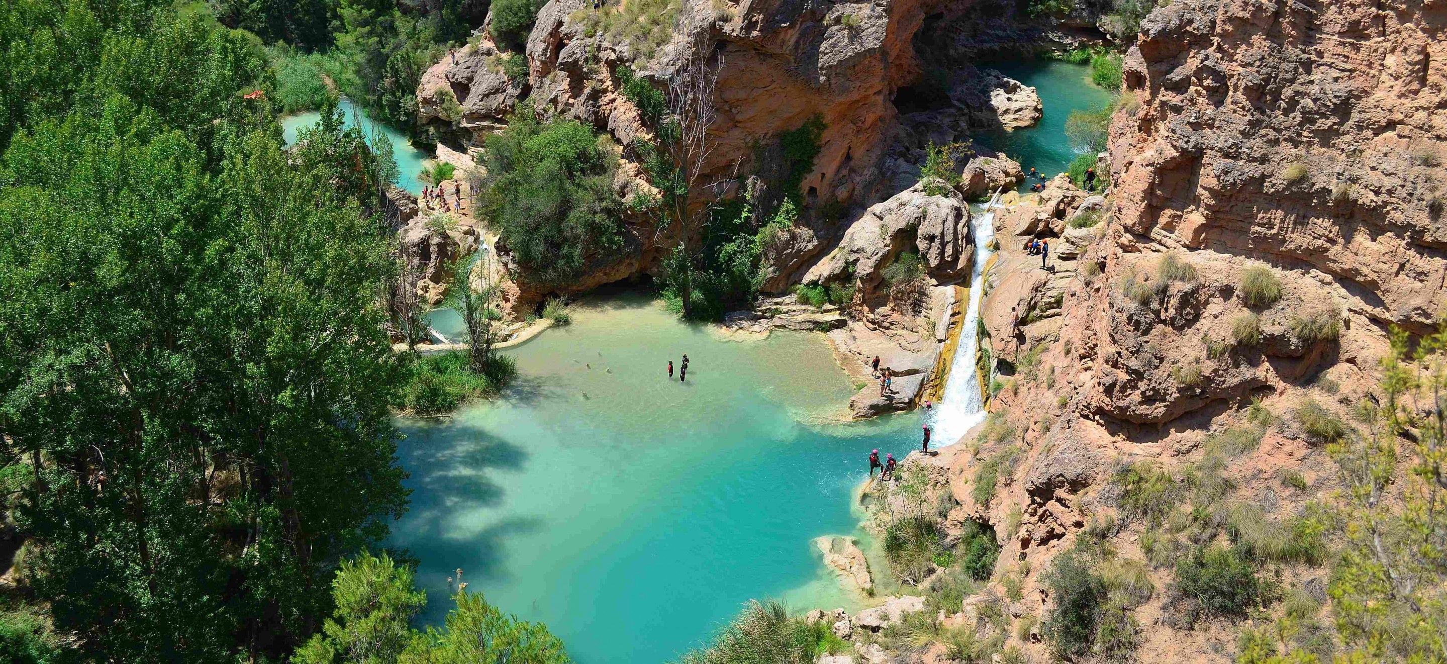Las chorreras en la provincia de cuenca wanders for Piscinas naturales las presillas