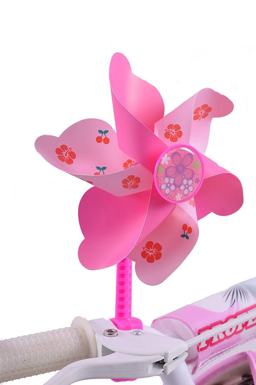 SUNLITE FLOWER COMFORT PINK BICYCLE GRIPS