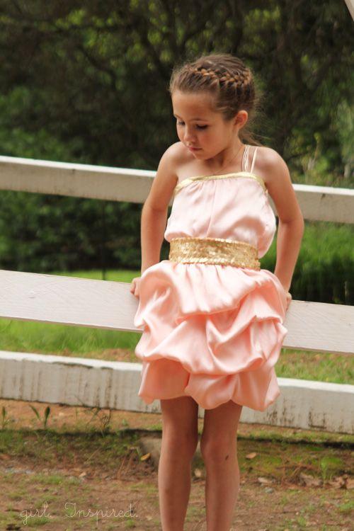 All Dressed Up - Girl's Formal Design - girl. Inspired.