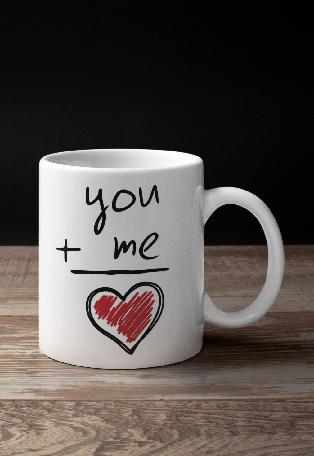 Love You Candy Heart Cute Valentines Day Coffee Cup Valentines Day Mug