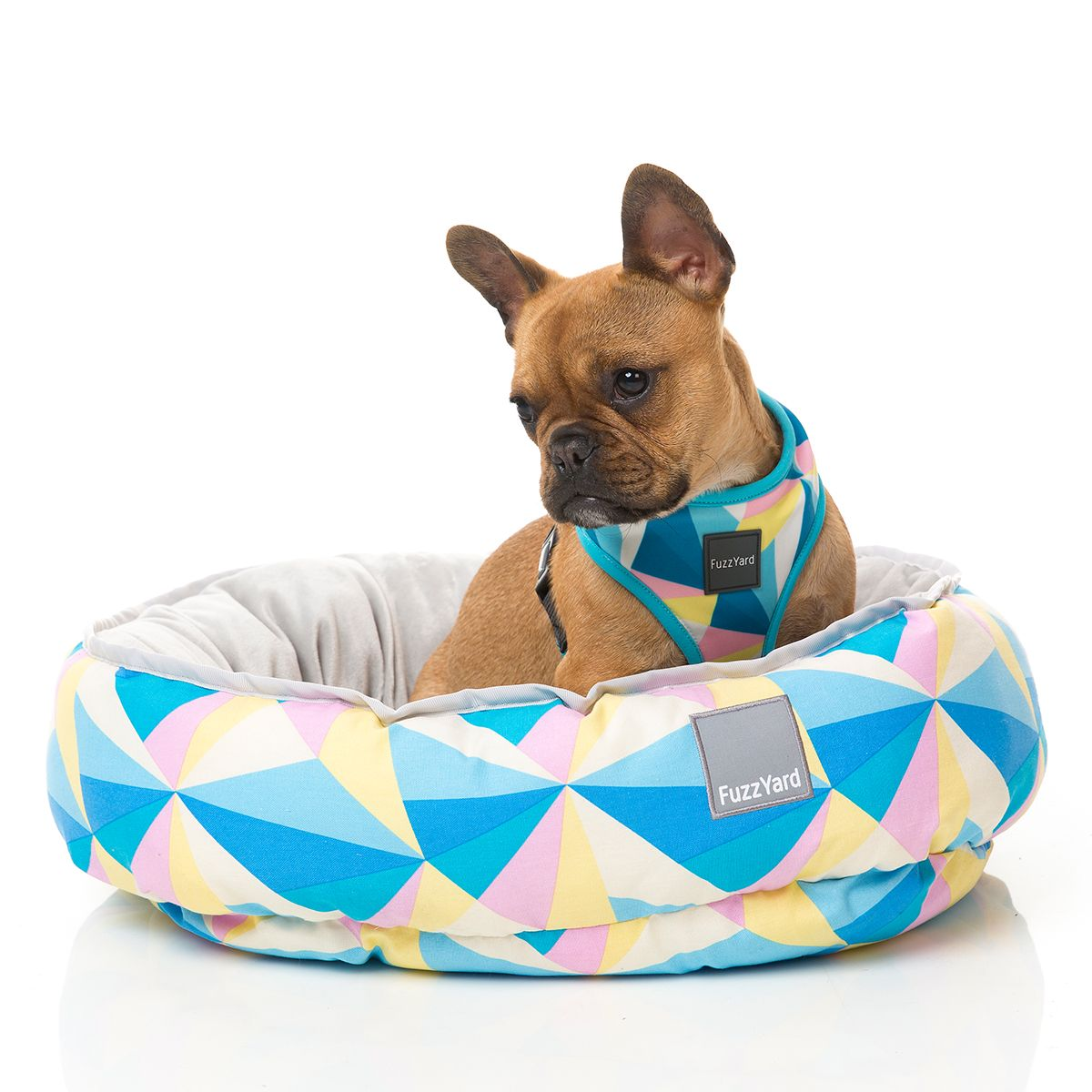 Fuzzyard South Beach Reversible Pet Bed