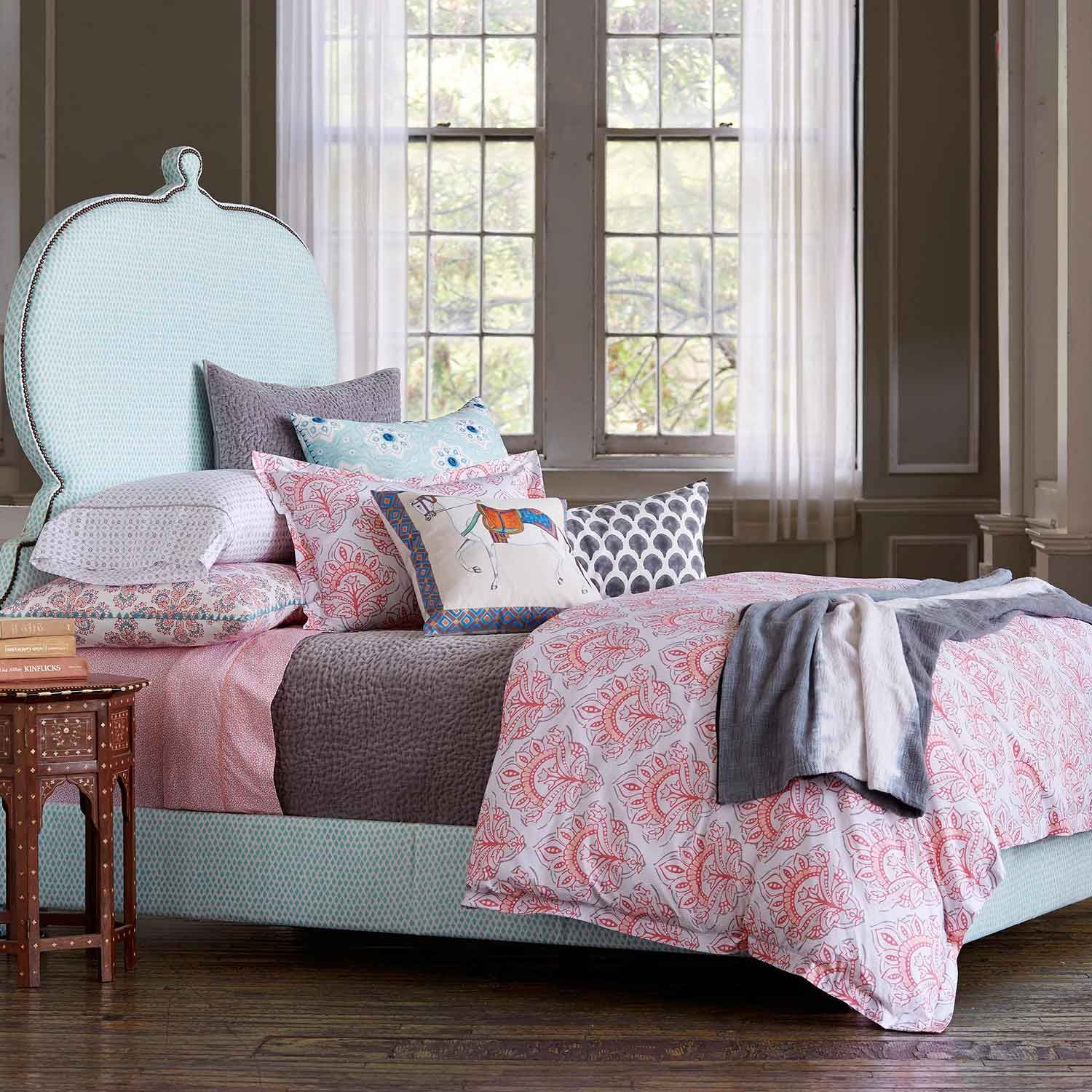 John Robshaw Textiles   Mahzar Bed Collection   Bed Collections   NEW  ARRIVALS