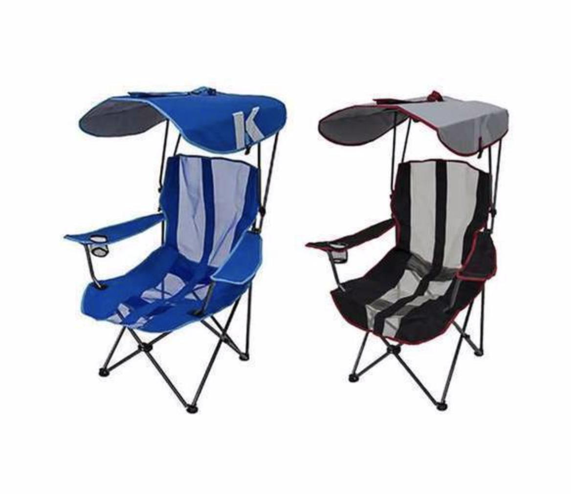 Chaise De Camping Portable Pliante De Qualite Superieure Avec Auvent Zippy Chaise De Camping Chaise Pliante Canopy