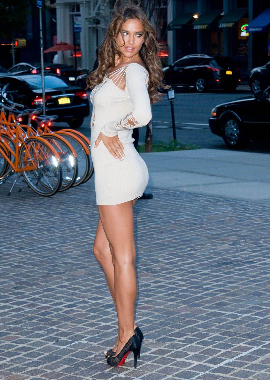 f1233b47398 Irina Shayk in a sexy dress