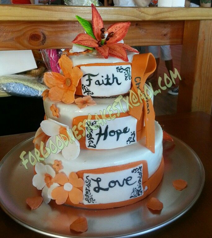 Fight against leukemia cake | my cakes and toppers | Leukemia