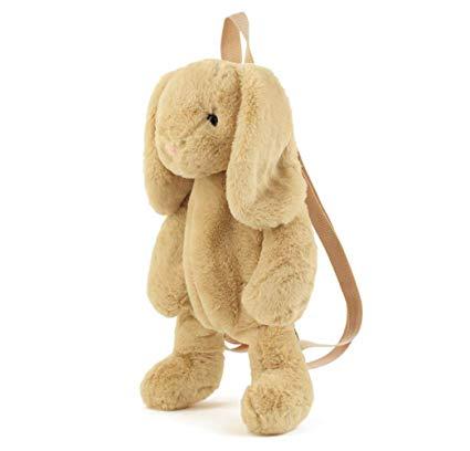 Cute Fuzz Plush Animal Teddy Bear//Panda//Dog//Kangaroo//Backpack Bags Toys for Toddles Kangaroo