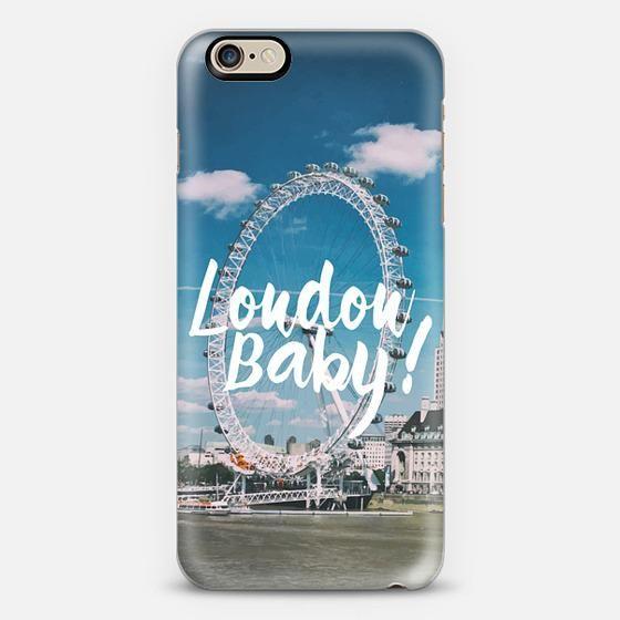 London baby iPhone 6 case by Uma Gokhale  f974cd96b