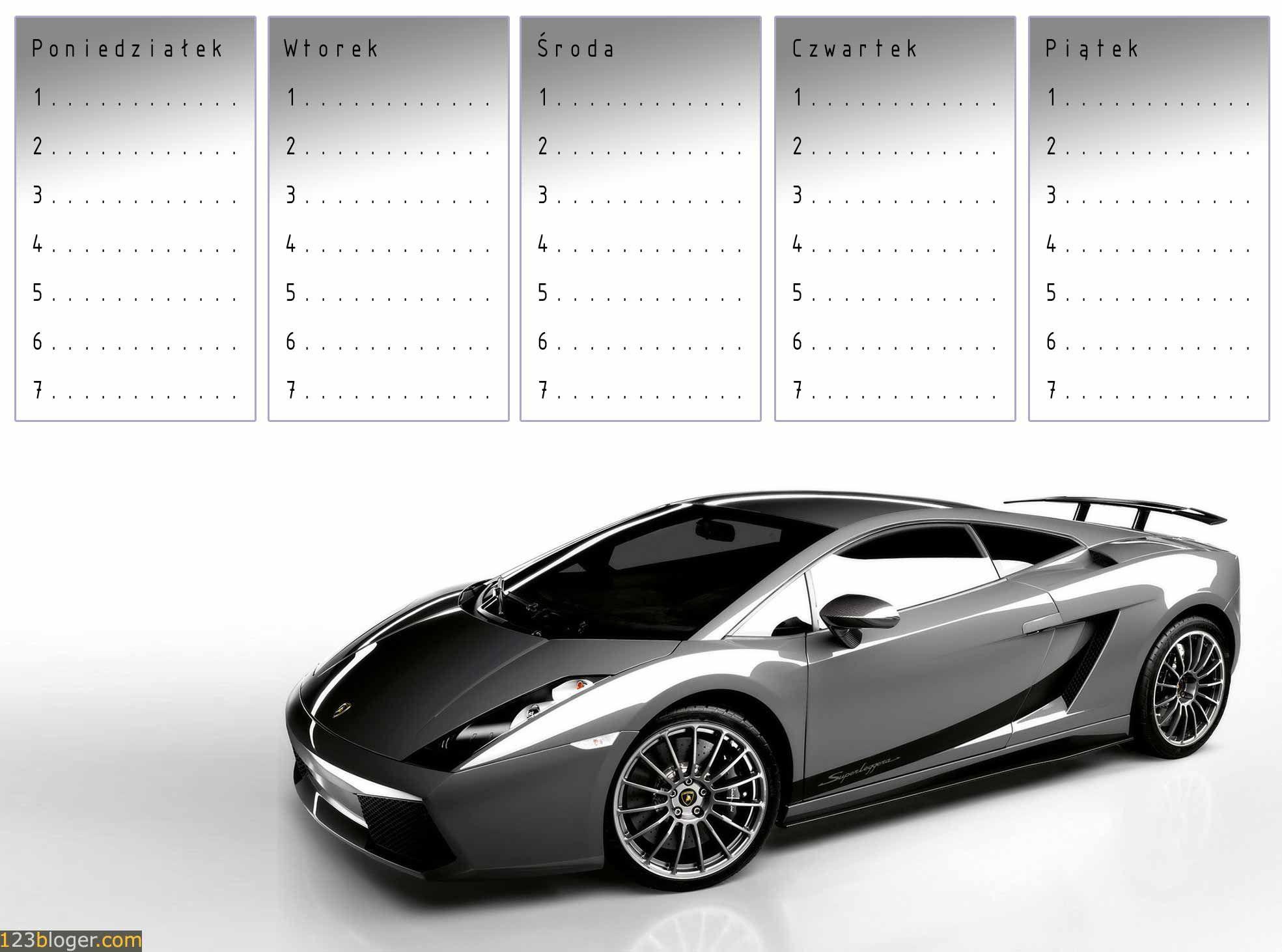 Znalezione Obrazy Dla Zapytania Plan Lekcji Z Samochodem Sports Car Car Sports