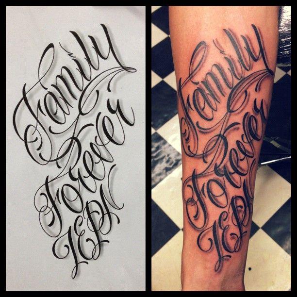 Forevever Ideas Family Tattoo Illusion: @mechanicaltattoos- #webstagram