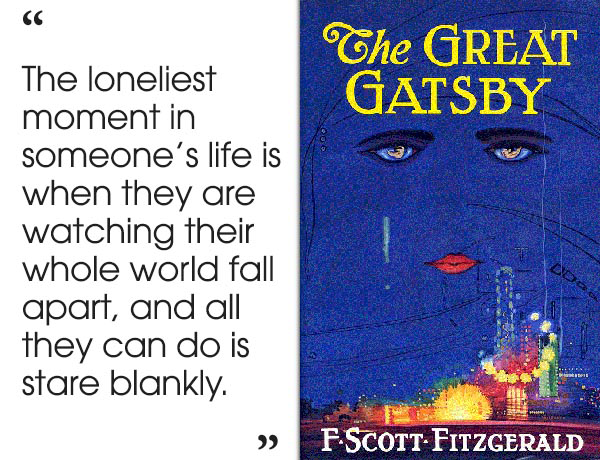 a literary analysis of the frosted glass in the great gatsby by f scott fitzgerald According to scott donaldson , in the life of f scott fitzgerald (2008), the great gatsby was first published in 1925 and the reviews fitzgerald received were the most favorable he had received so far (22.