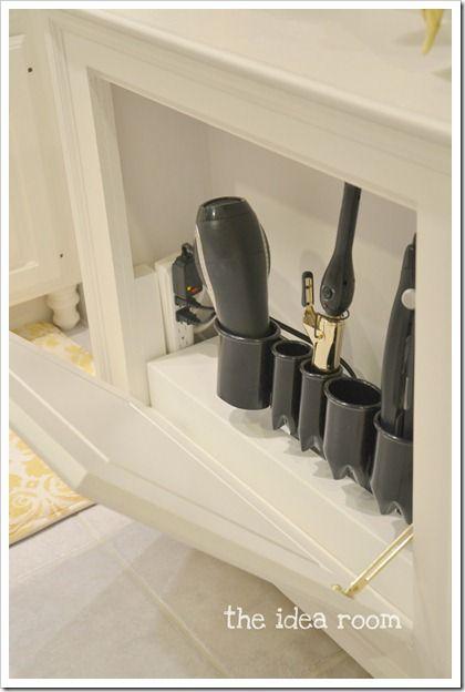 Hair Tool Storage Cabinet Hair Tool Storage Tool Storage Cabinets Trendy Bathroom