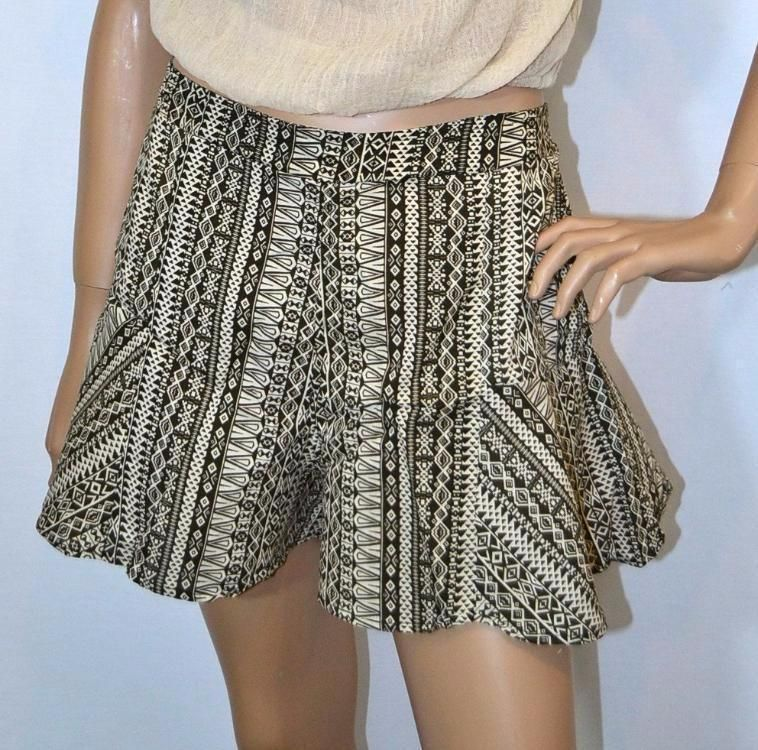 4fbdd02ea1 Elan Ruffle Flare Shorts - Fiji Brown | Products | Ruffle shorts ...