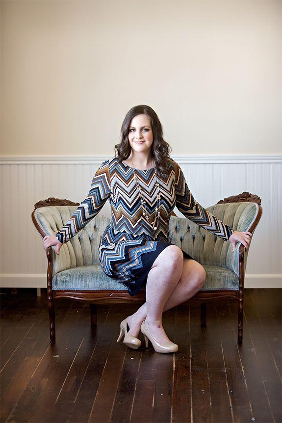 #GwynnieBee member @lauraerau1 modeling a Jessica Howard dress