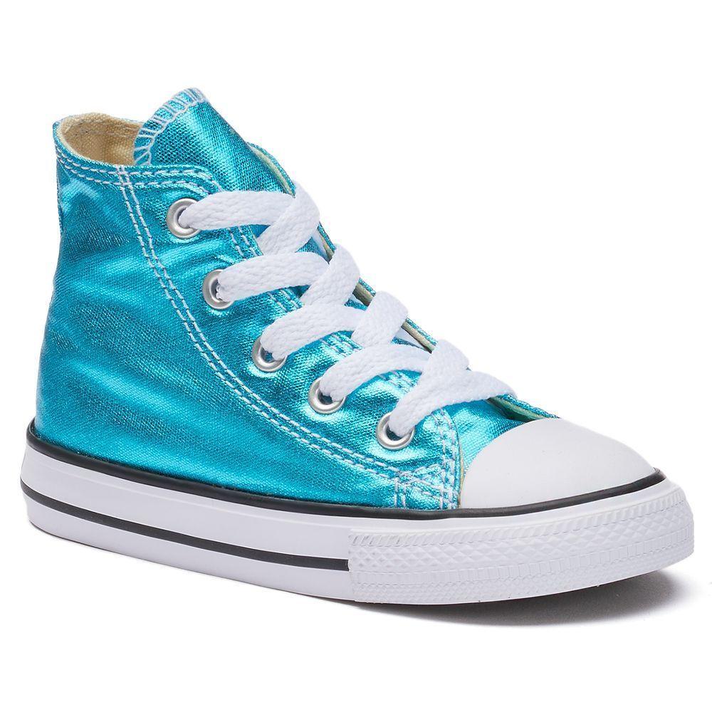 cd7430f1ec7f7 Toddler Converse Chuck Taylor All Star Metallic High-Top Sneakers ...