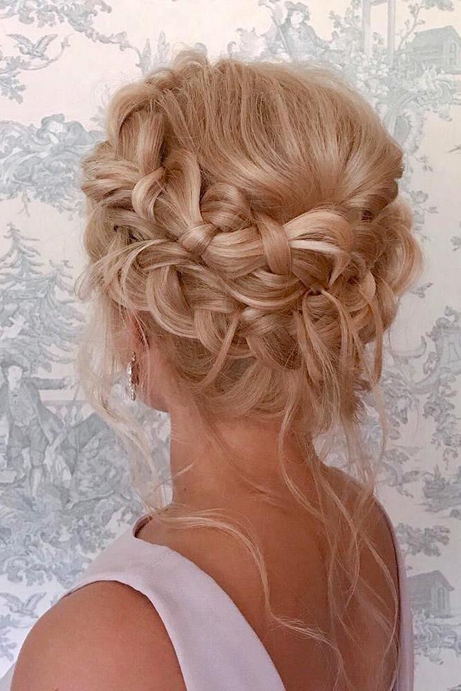 42 Chic And Easy Wedding Guest Hairstyles Braided Crown