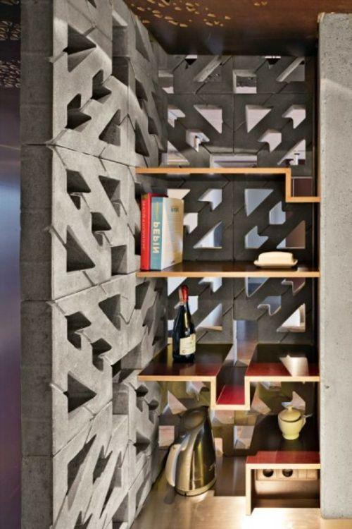 Möbel für die kleine Wohnung industriell stil platzsparend regale - industrielle stil wohnung
