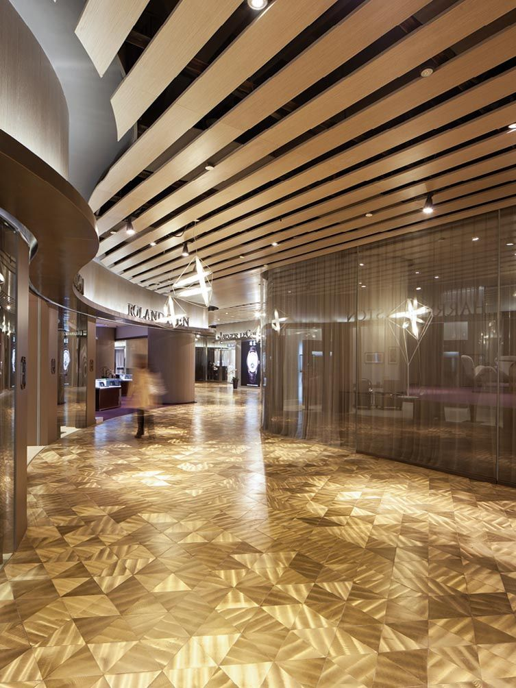 Paragon Watch Galleria Web 01 Retail Interior Ceiling Design