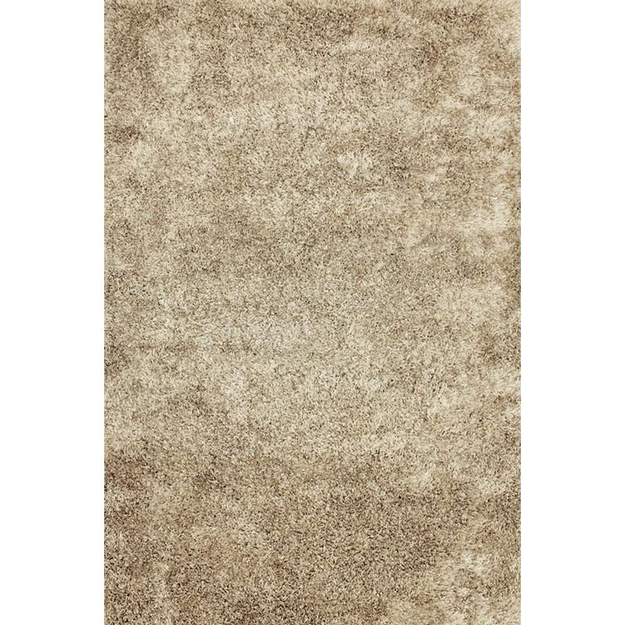 Allen Roth Korleigh 7ft X 10ft Beige Latte Beige Latte Indoor Area Rug Common 7 X 10 Actual 7 Ft W X 10 Ft L Lowes Com In 2020 Solid Area Rugs Plush