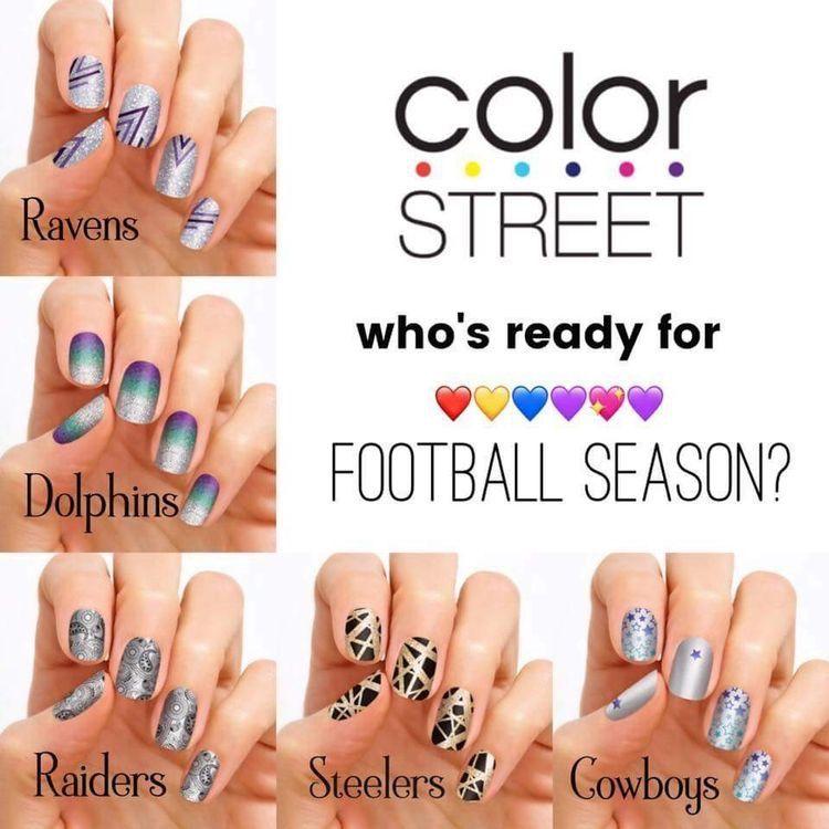 Football   Color Street Fun Facts   www.nailsaz.com   100% Nail ...