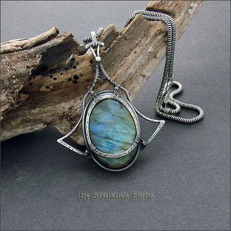 Necklaces and pendants - Strukova Elena - author decorations