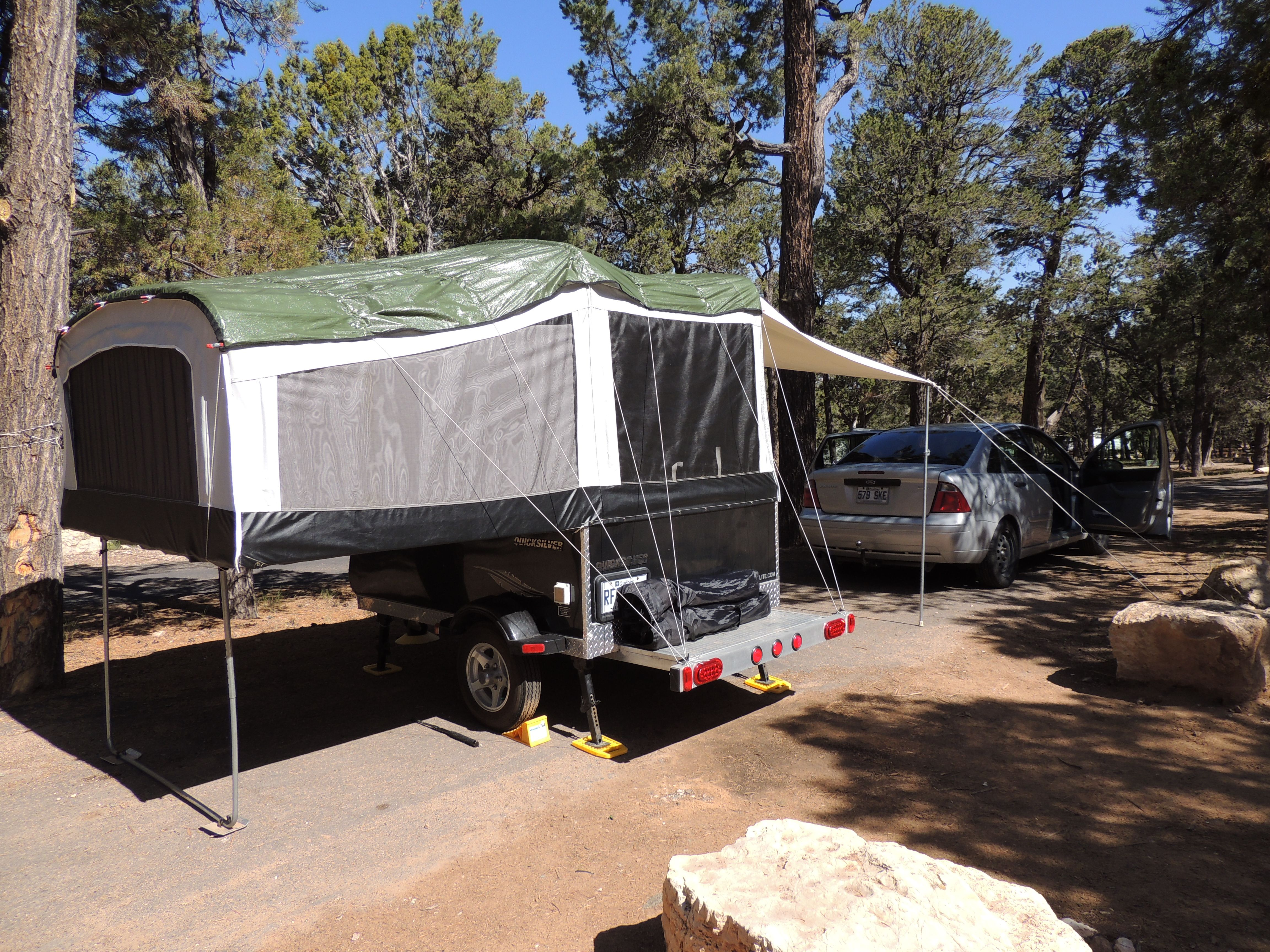 Mather campground terrain 206, Grand Canyon, Arizona