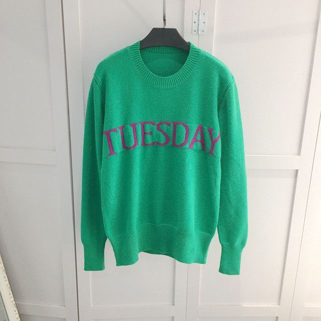 Day Of The Week Knitted Sweaters Unisex And Products