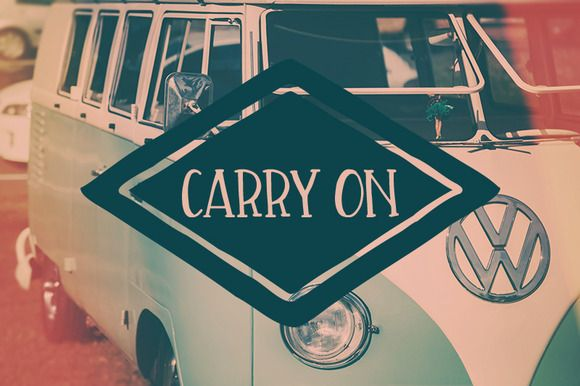 Carry On by OnTheSpotStudio on @creativemarket