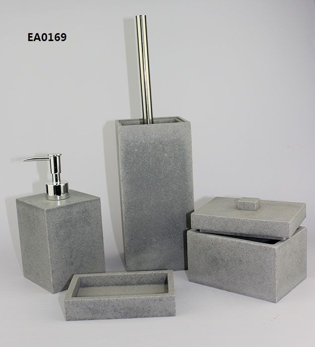 ea0169 grey bathroom accessories for home decoration or hotel decoration - Bathroom Accessories Grey
