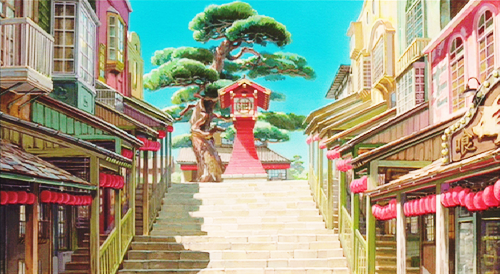 Ghibli Spirited Away Background Art Studio Ghibli Neue Welt Ghibli