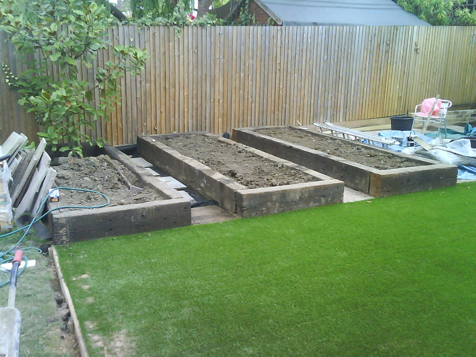 The Raised Vegetable Beds