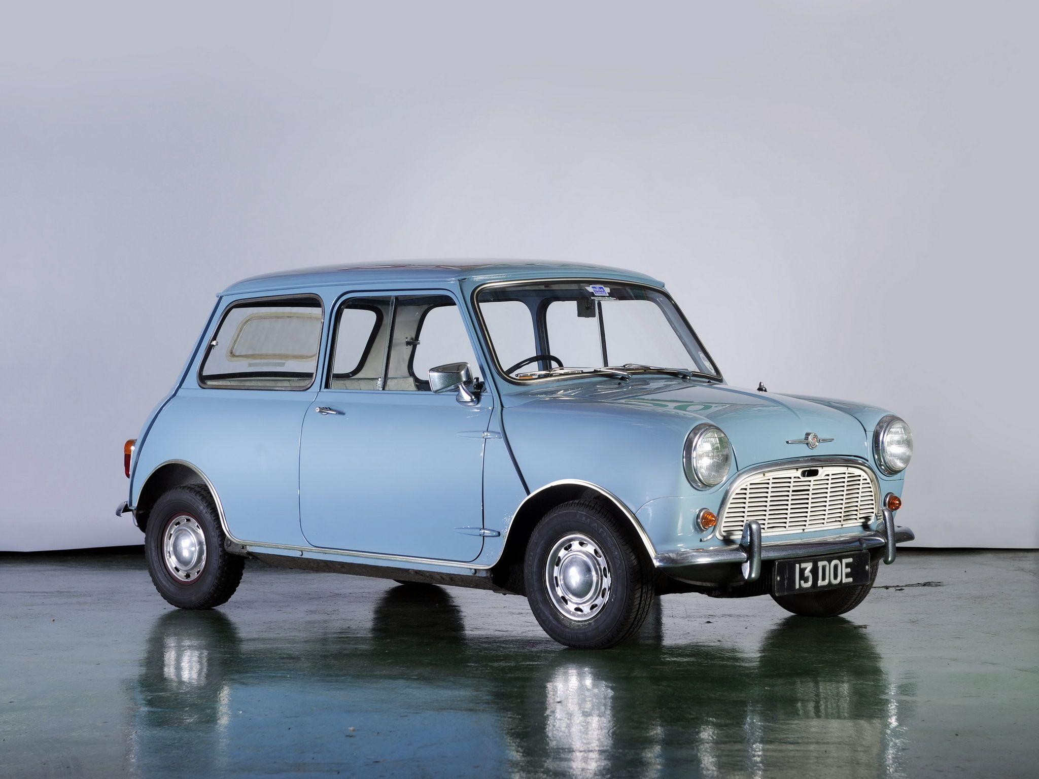 195969 Morris Mini Minor Ado15 Autók és Motorok Mini Cooper S