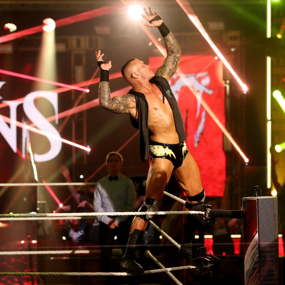 Photos Edge And Orton Renew Hostilities In The Greatest Match Ever In 2020 Randy Orton Orton Wwe Photos
