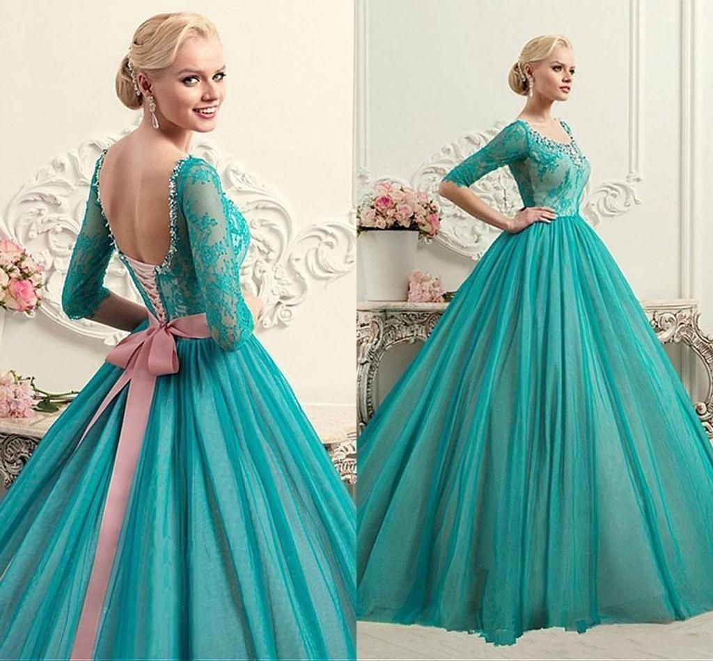 Cheap luxury d flowers ball gown quinceanera dresses sweet