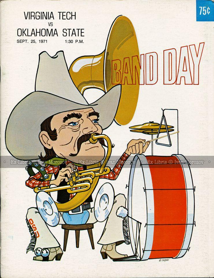1971.09.25. Virginia Tech (Hokies) at Oklahoma State