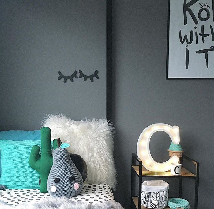 Our letter lights are the perfect addition to any little persons space www.minimarqueelighting.com.au