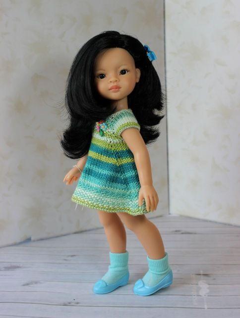 Ателье для Даши Игровые куклы Paola Reina, 35 см