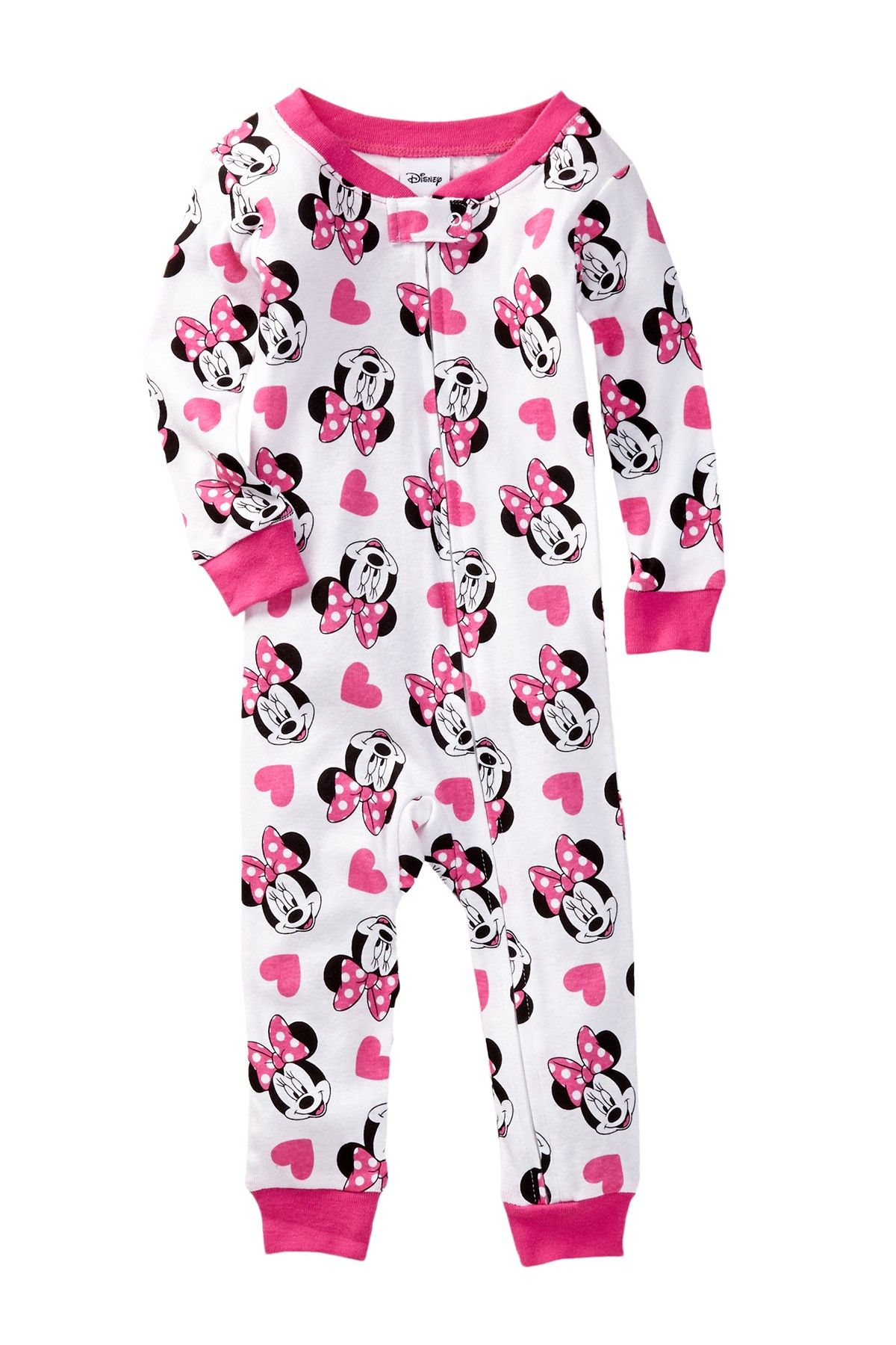 AME Minnie Mouse Cotton Sleeper Baby Girls