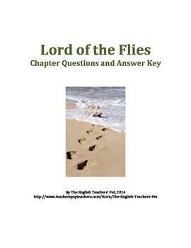 Lord Of The Flies Chapter Questions And Answer Key This Or That