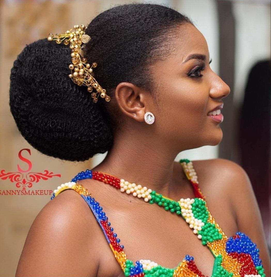 Gold Vine Oliahnaturals Hatboxco Natural Hair Wedding Natural Hair Wedding African Wedding Hairstyles Natural Hair Styles