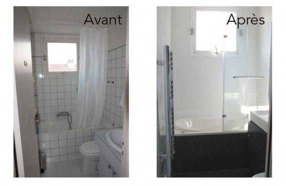 salle de bain petit espace couloir recherche google salle de bain pinterest espaces. Black Bedroom Furniture Sets. Home Design Ideas