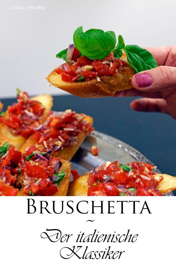 Bruschetta ~ Der italienische Klassiker #herbstgerichte