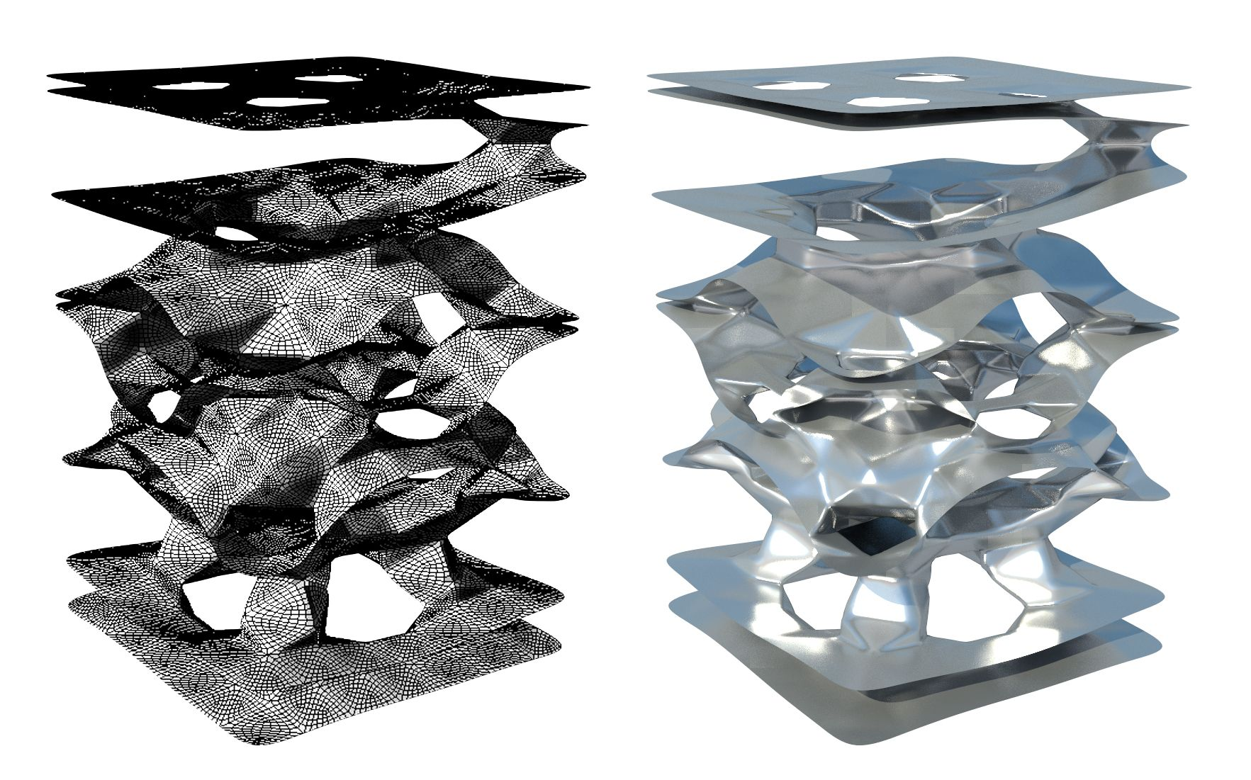 3d Cellular Automata   Inspiration_Grasshopper   Pinterest