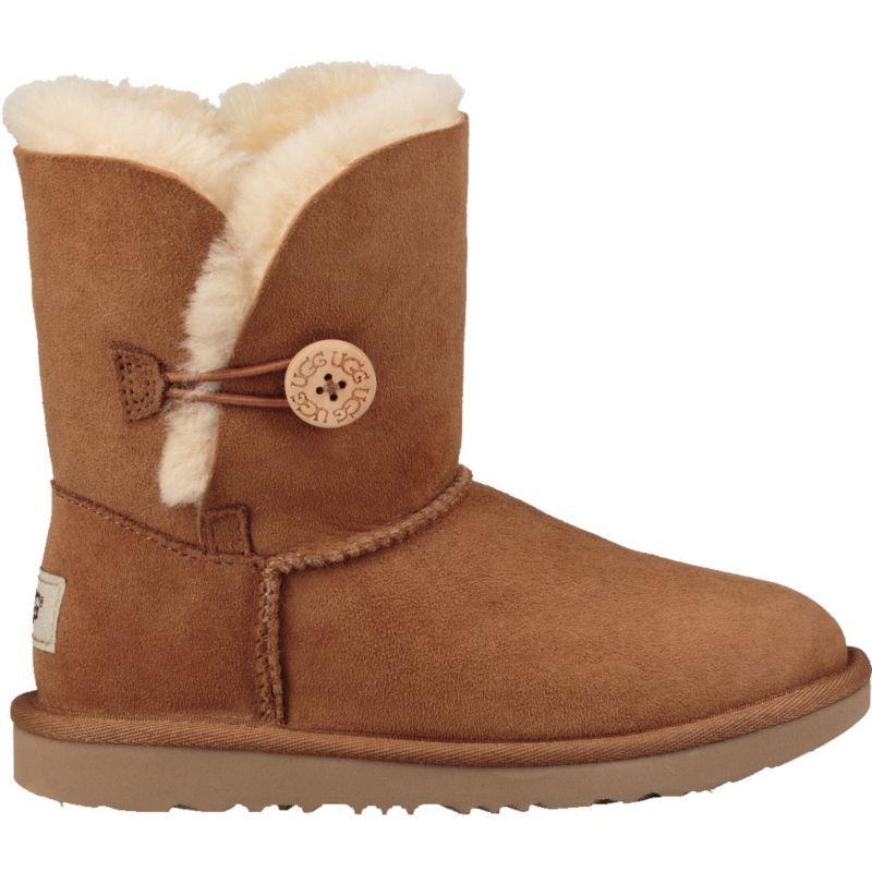 UGG Kids' Bailey Button II Winter Boots, Brown