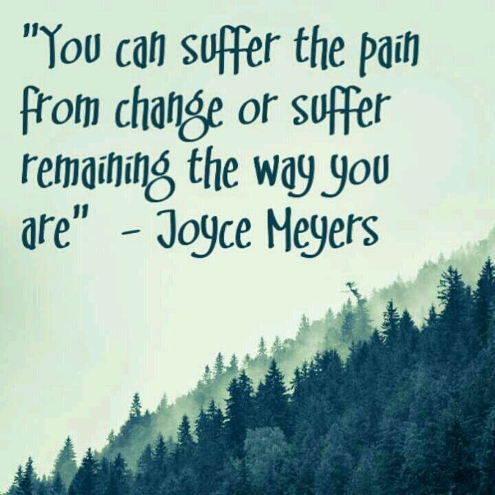 Seeking Inner Peace Quotes: You Can Suffer The Pain From Change Or Suffer Remaining