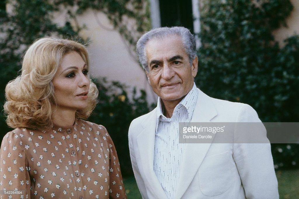 Mohammad reza pahlavi shah of iran and his third wife for Shah bano farah pahlavi