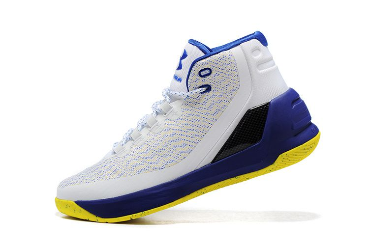 Under Armour Curry 3 Iii Dub Nation Golden State Warriors Home Fall