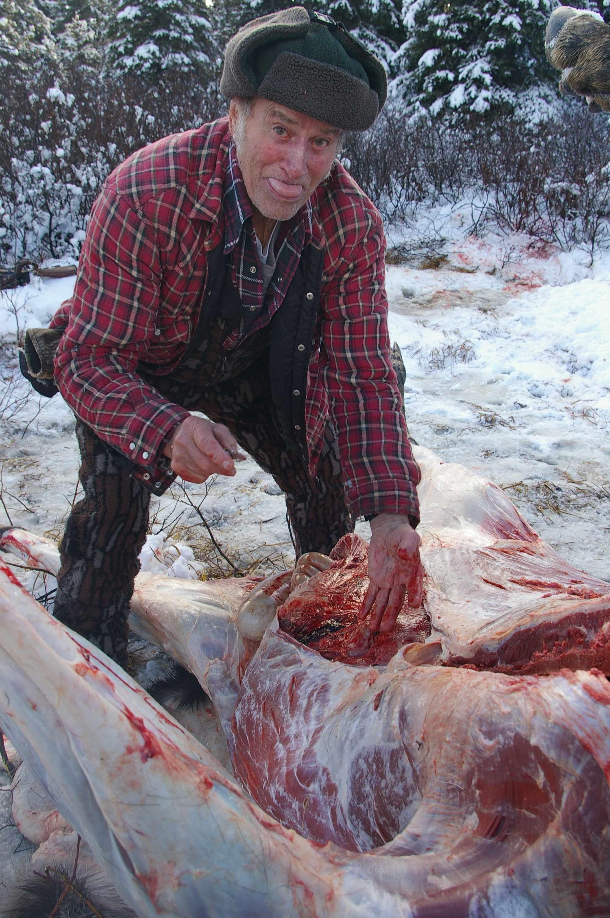 How to field dress a moose deer hunting equipment moose