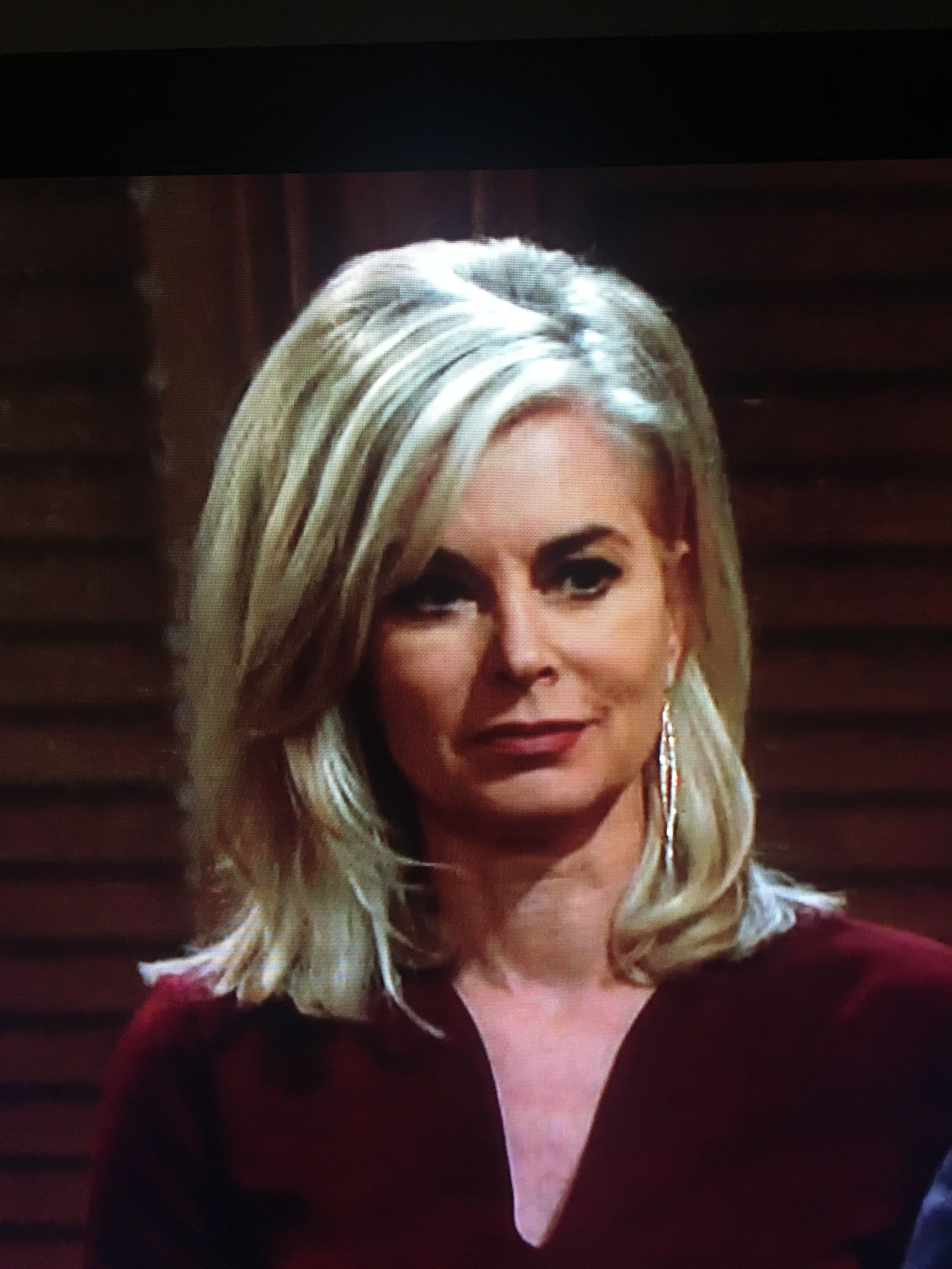 eileen davidson hairstyle - young & restless 2018   hair