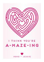 You're A-Maze-Ing Classroom Valentine's Cards by A...   Minted
