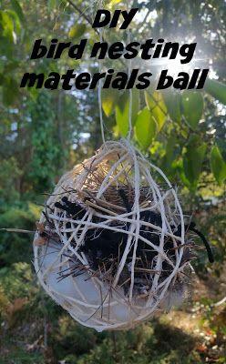 Bird Nesting Material Ball Bird Nesting Material Bird Houses Diy Homemade Bird Houses